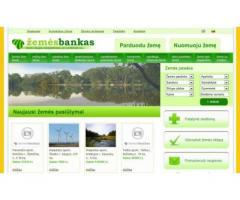 Žemę parduoti ir pirkti galite čia: www.zemesbankas.lt
