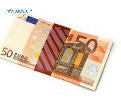 Vartojimo skubus kreditas be užstato