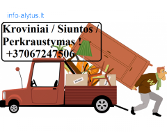 Transporto paslaugos. Krovinių gabenimas