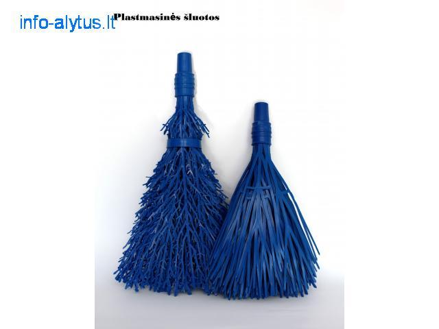 Plastikinės lauko šluotos www.plastonas.eu