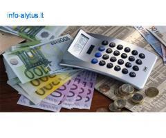Pateikite paraišką dėl paprasto, greito ir mažo palūkanų finansavimo
