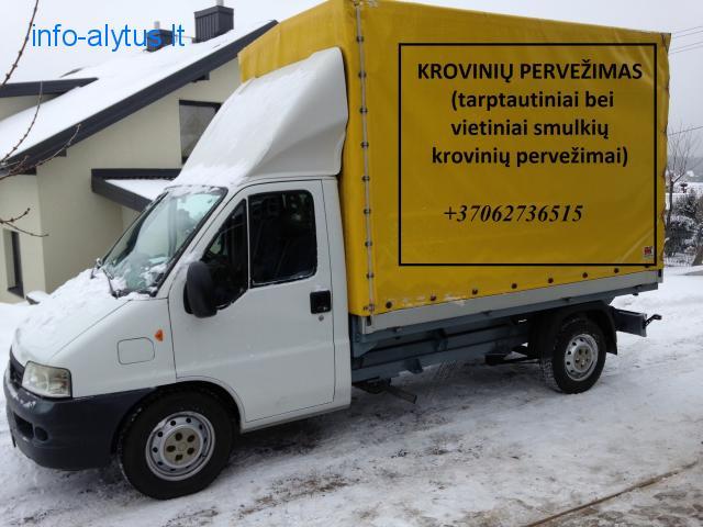 Skubus krovinių pervežimas Lietuva - Lenkija - Lietuva
