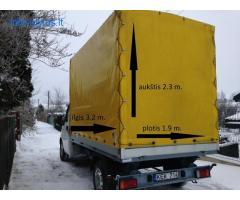 Greitas krovinių pervežimas