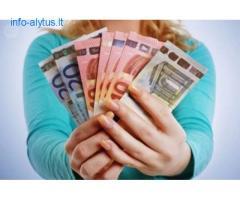 Skubus kreditas mažiau nei per pusę dienos (12 val.)
