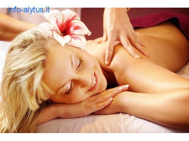 Aromaterapiniai masažai