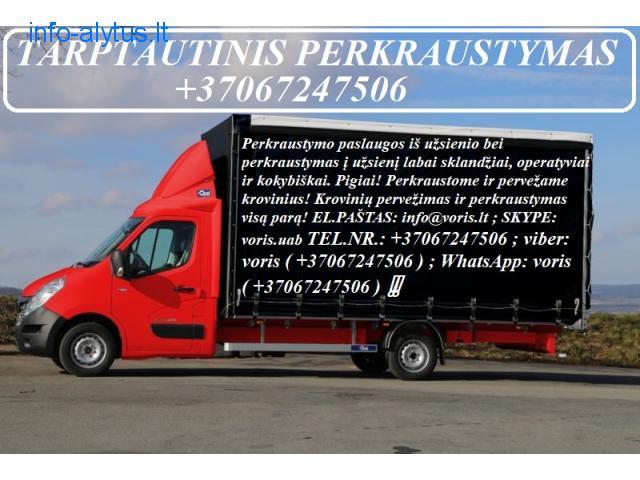 Tarptautinio perkraustymo ir krovinių gabenimo paslaugos Europoje ir Lietuvoje