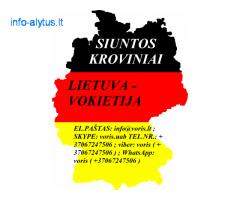 Perkraustymas į Vokietiją! Perkraustymas iš Vokietijos !