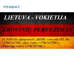 Tarptautiniai perkraustymai Lietuva-Vokietija-Lietuva