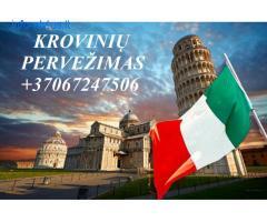 Perkraustymas į Italiją! Perkraustymas iš Italijos !