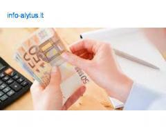 Paskolos pasiūlymas ir finansinė parama