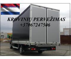 Tentiniu busiuku vežame krovinius iš Olandijos į Olandiją