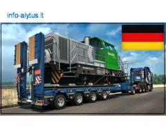Krovinių Pervežimas Platforma !  iš / į Vokietija / Vokietijos / Vokietiją