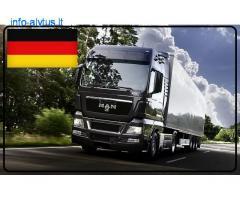 Kroviniai, gabenami šaldytuvinėmis puspriekabėmis. Vokietija – Lietuva
