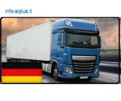 Krovinių Pervežimas Šaldytuvu Krovimo svoris iki 22000kg. ! iš / į Vokietija / Vokietijos