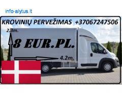 08d. / 09d. / 10d. Galim paimti krovinius / siuntas iš Danijos į LIETUVA