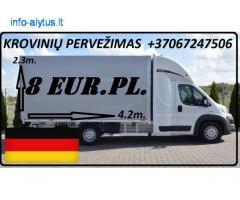 Galim paimti krovinius / siuntas iš Vokietijos į LIETUVA
