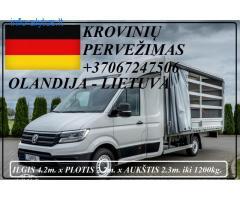 Eksponatų ir parodų įrangos pervežimas Lietuva – Vokietija