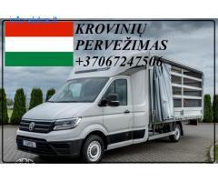 Eksponatų ir parodų įrangos pervežimas Lietuva – Vengrija– Lietuva