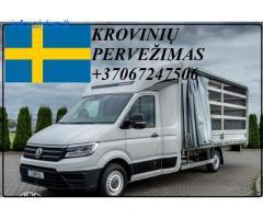 Eksponatų ir parodų įrangos pervežimas Lietuva – Švedija