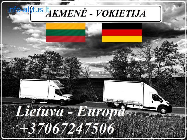 Lietuva - Akmenė - Vokietija - Lietuva !