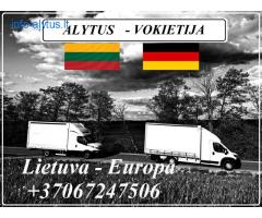 Lietuva - Alytus - Vokietija - Lietuva !