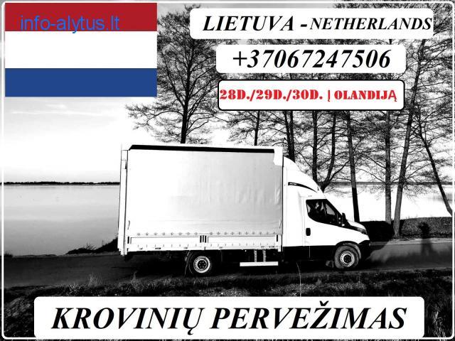 28d./29d./30d. IŠ LIETUVOS Į OLANDIJĄ / Lietuva - OLANDIJA - Lietuva
