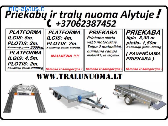 www.tralunuoma.lt // Nuoma