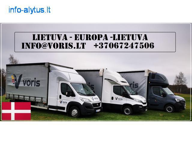 Lietuva - Danija - Lietuva !