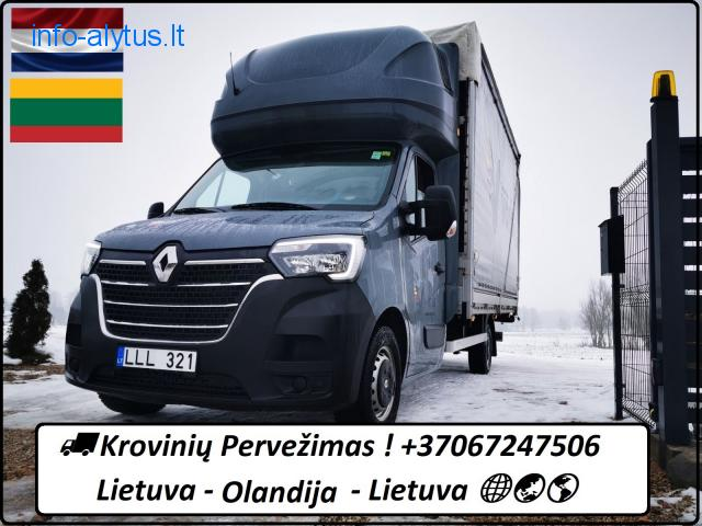 Lietuva - Olandija - Lietuva !