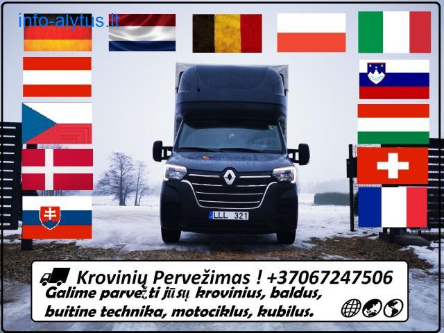 LT-EU-LT ( Lietuva - Europa ) - Kroviniu Pervezimus