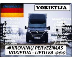 AUSTRIJA ---- KROVINIU PERVEZIMAS 17d./18d./19d.