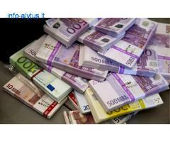 Reikia skubiai pinigų paskoloms?