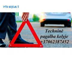 Techninė pagalba kelyje +37062387452