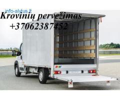 Lietuva - Lietuva ! Pervežame krovinius patikimai ir greitai