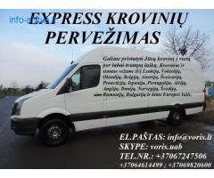 EXPRESS KROVINIŲ PERVEŽIMAS