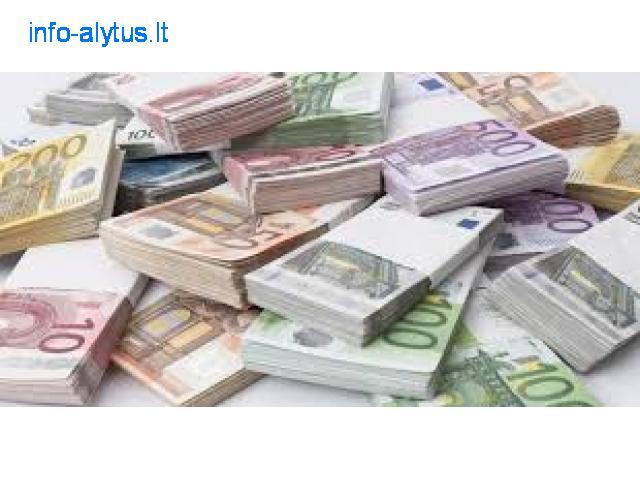 finansinė pagalbos ranką jūsų projektams