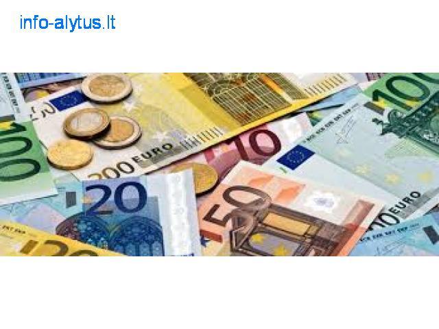 Paskolos pasiūlymas pinigų tarp ypač