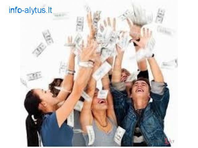 Gauti paskola ar finansine pagalba, greitai