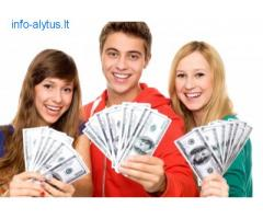 Finansavimo greitas pinigu žmonems, tirpiklis