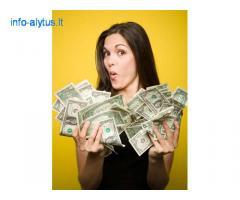 Ar jums pasiulyti finansavimo savo pasirinkima