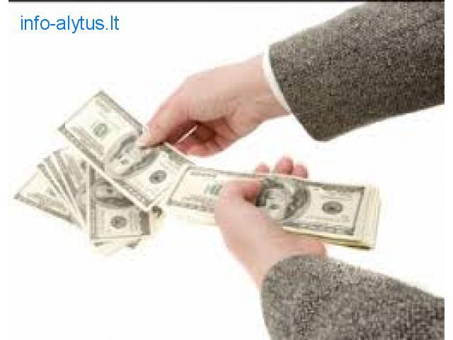 Finansavima siuloma po Dievo teisumas