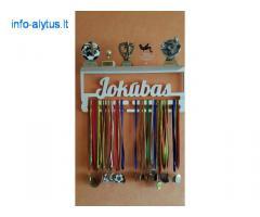 Medinės medalių kabyklos