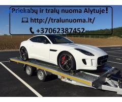 TRALIUKO/PLATFORMOS/PRIEKABOS NUOMA ALYTUS